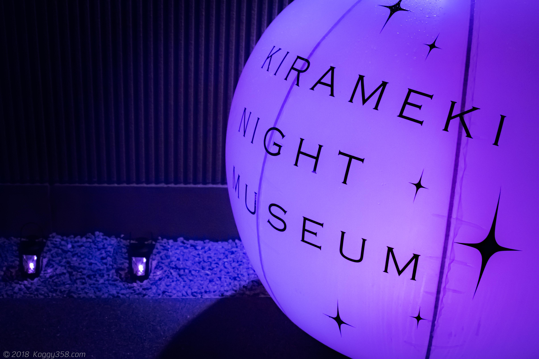 煌きナイトミュージアムの風景