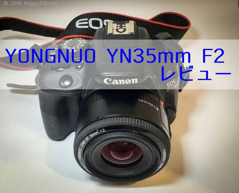 コスパ最強YONGNUO YN35mm F2レビュー!初めての単焦点におすすめ