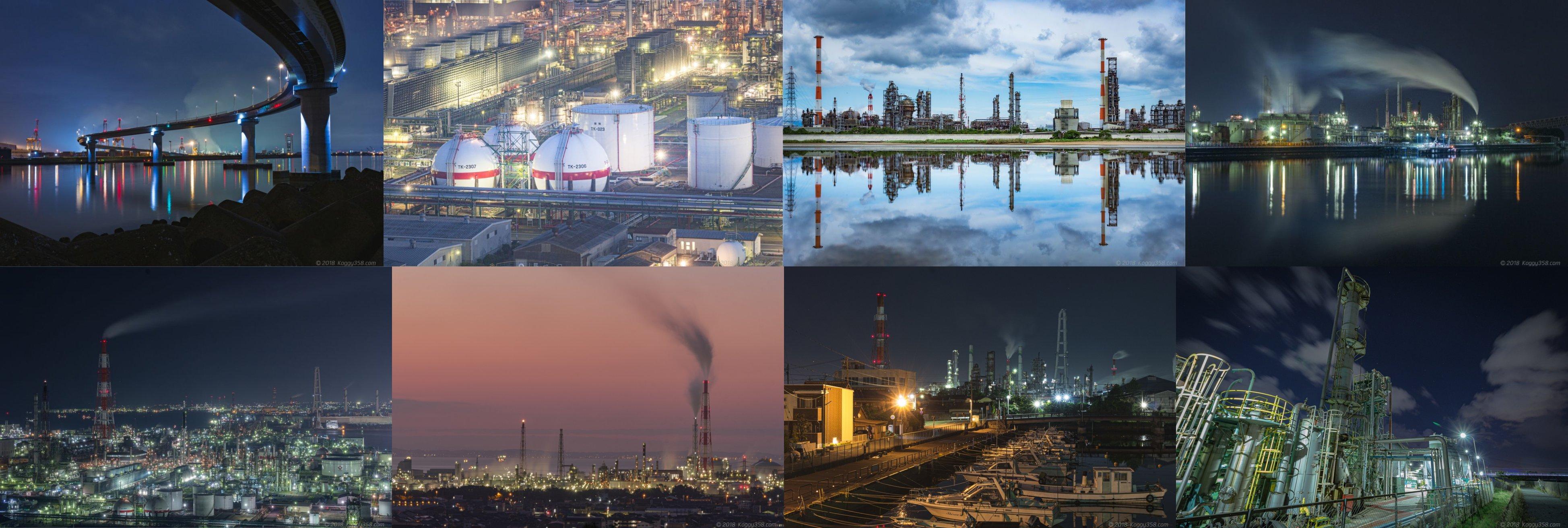 四日市の工場夜景おすすめ撮影スポット7選【撮影時間や雰囲気・特徴を比較】